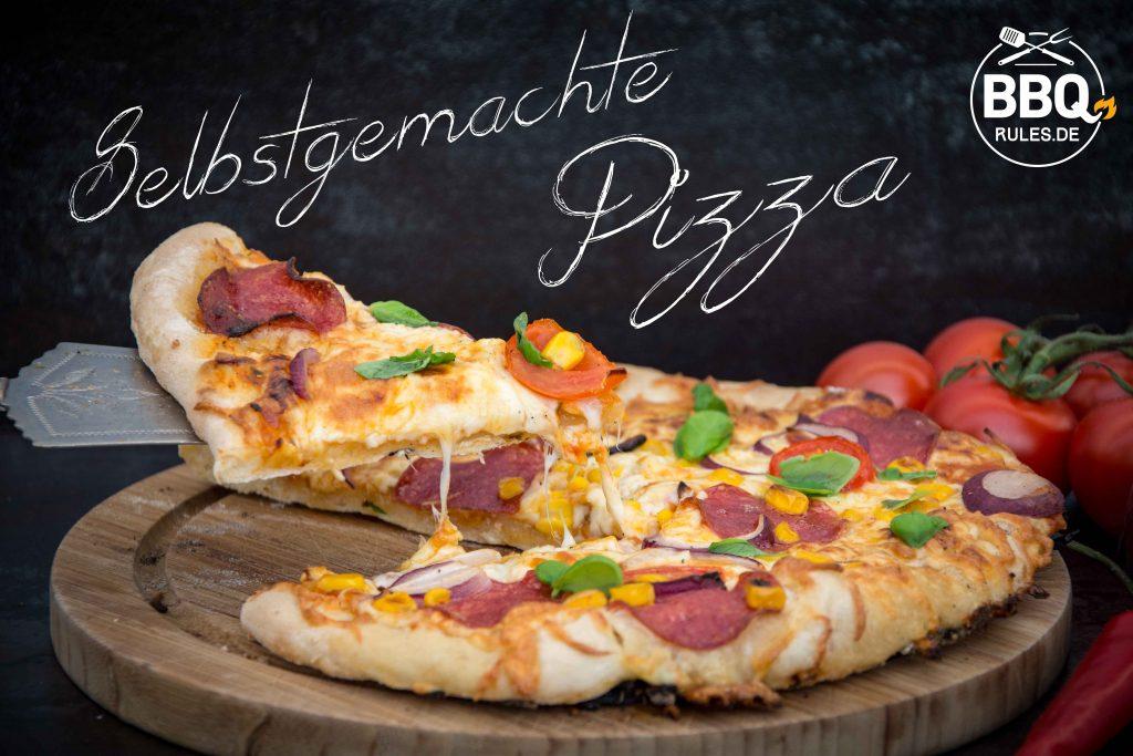Selbstgemachte Pizza – der perfekte Pizzateig