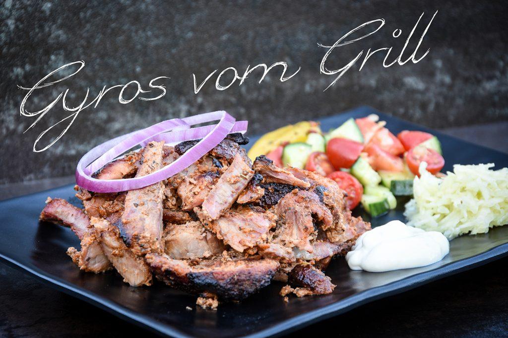 Gyros vom Grill