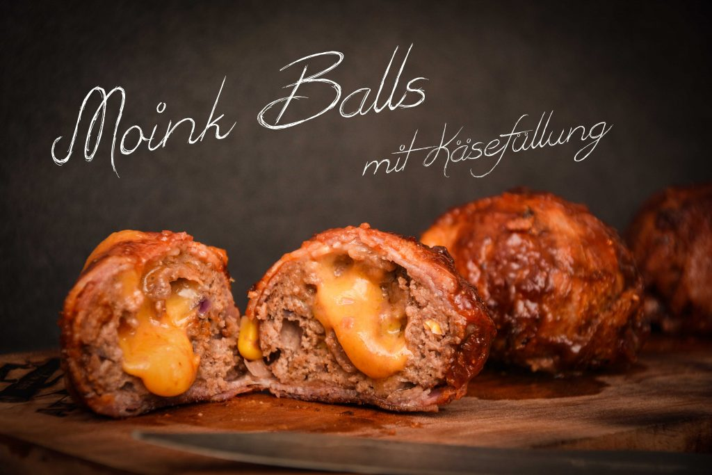 Moink Balls vom Grill