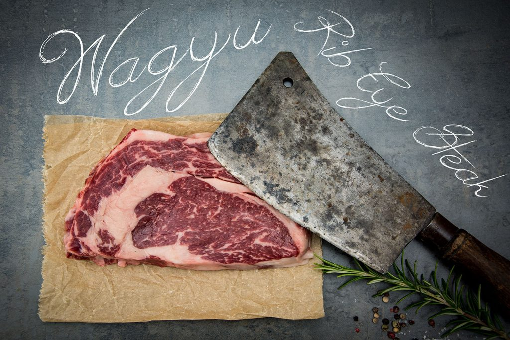 Wagyu Rib Eye Steak