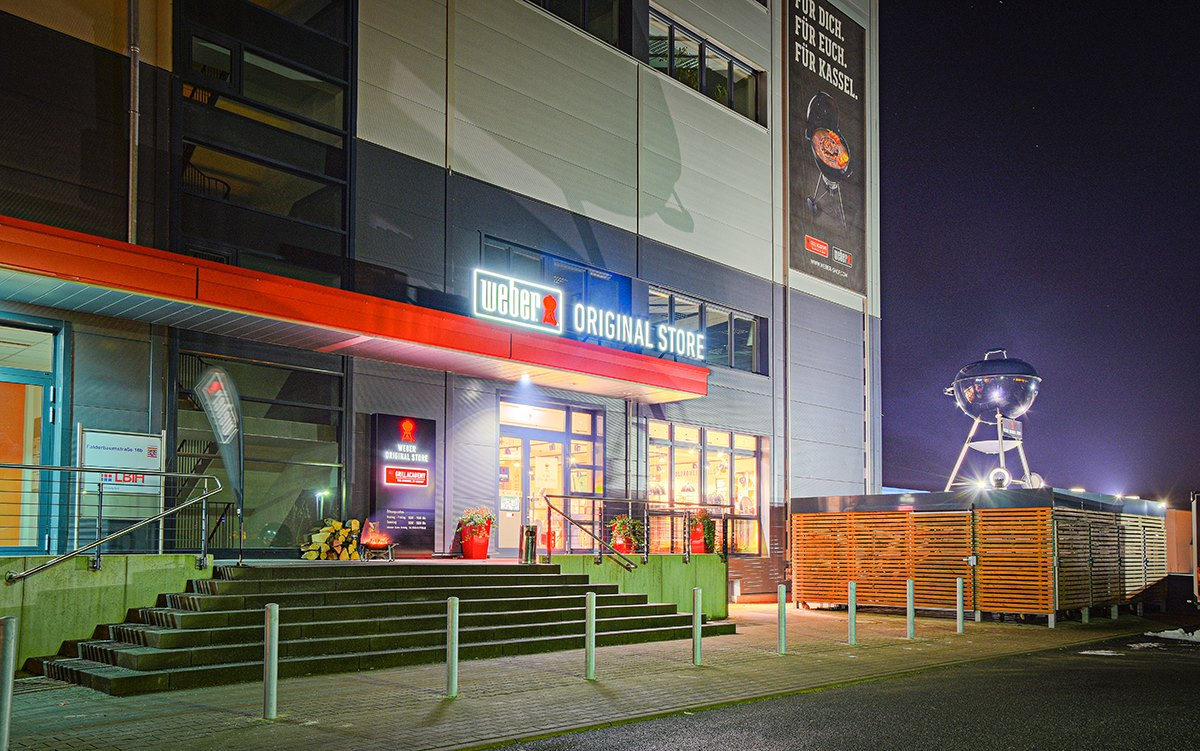 WEBER Genesis II Night in Kassel │BBQ Rules │ Grill- & BBQ Blog