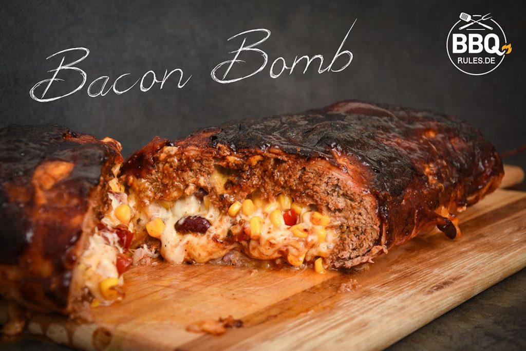 bacon bomb hackbraten umwickelt mit speck einfaches rezept bbq rules. Black Bedroom Furniture Sets. Home Design Ideas