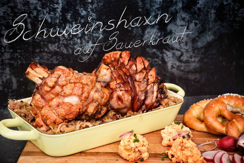 Knusprige Schweinshaxe das Grillrezept