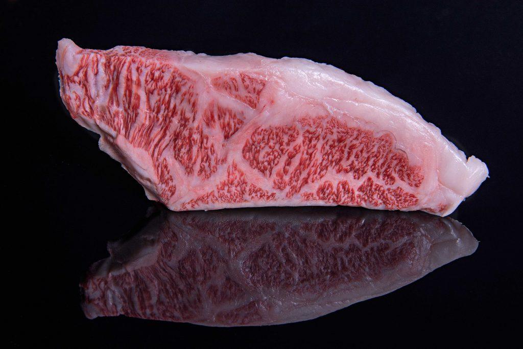 Ein Steak vom Wagyu-Rind