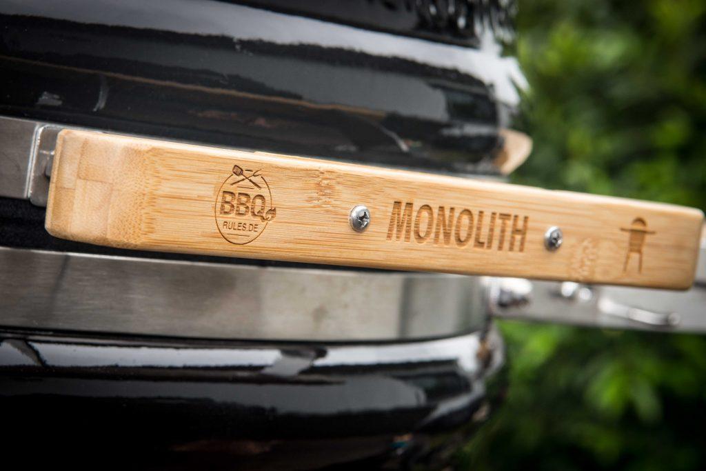 Neuer Griff für meinen Monolith von fire & steel – Dein Grillshop
