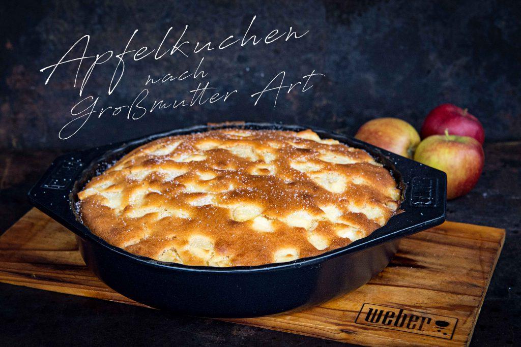 Apfelkuchen nach   Großmutters Art