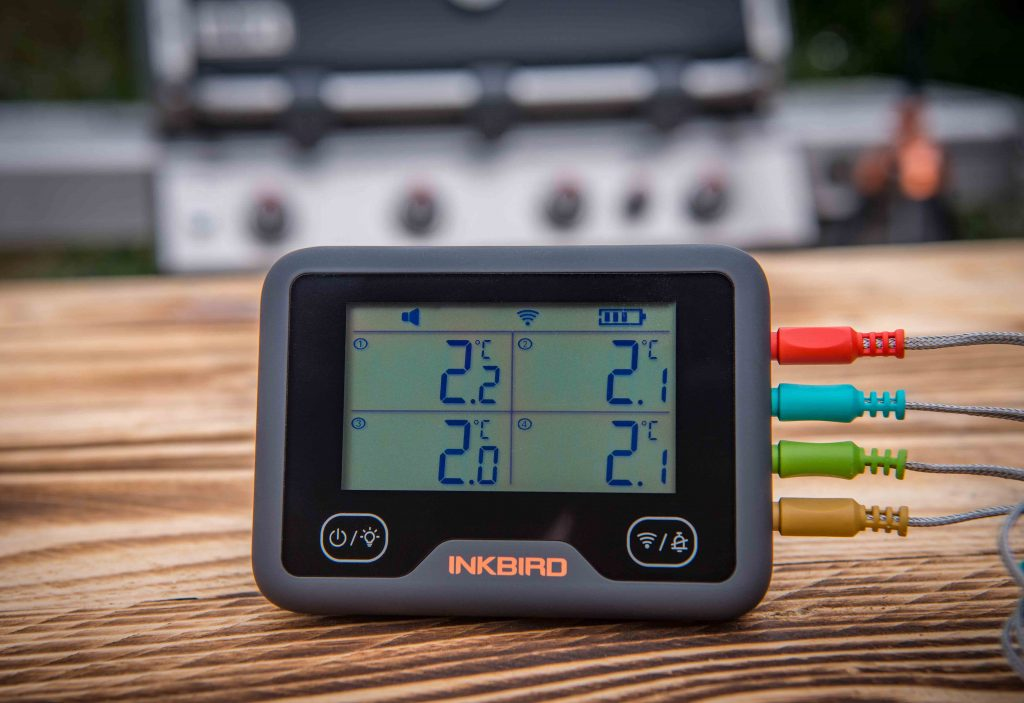 Inkbird WLAN & Bluetooth Grillthermometer IBBQ-4BW Testbericht