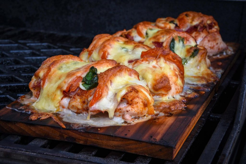 Hähnchenbrust Tomate Mozzarella