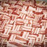 Rollbraten mit Bacon umwickelt