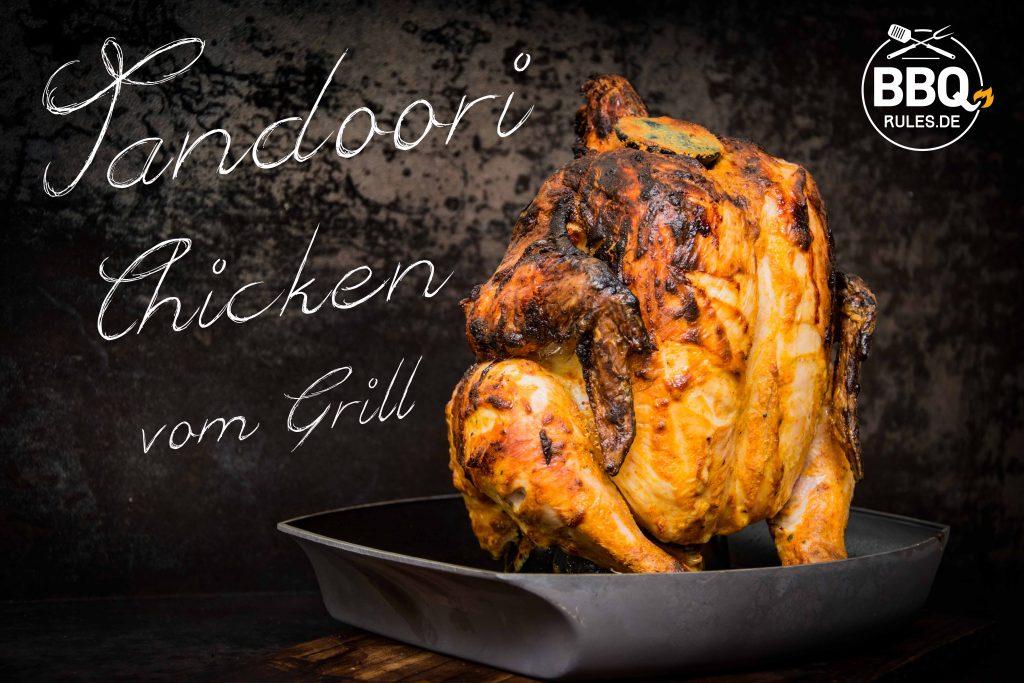 Tandoori Chicken vom Grill