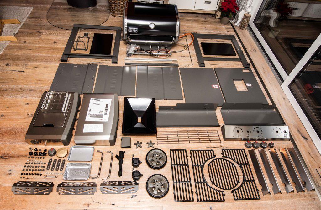 Gasgrill Weber Genesis II – Unboxing & Montage