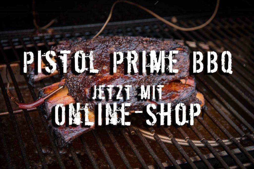 Online-Shop bei Pistol Prime BBQ