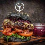 Burger mit Gorgonzola