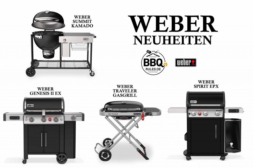 Die neuen Weber Grills